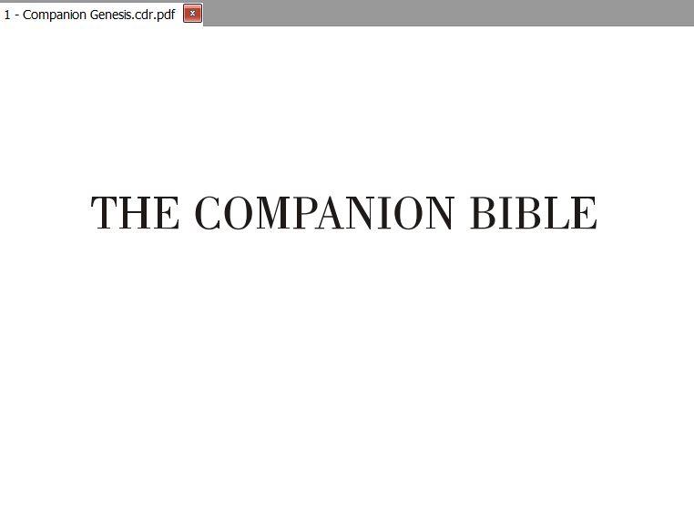 Companion Bible