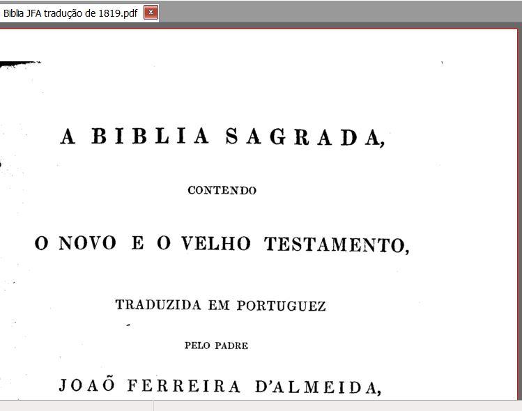 Bíblia de Estudo JFA